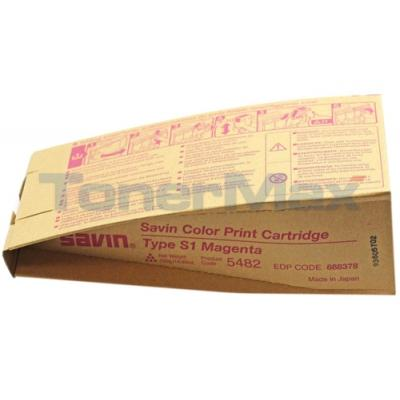 SAVIN SDC-555 TYPE S1 TONER MAGENTA